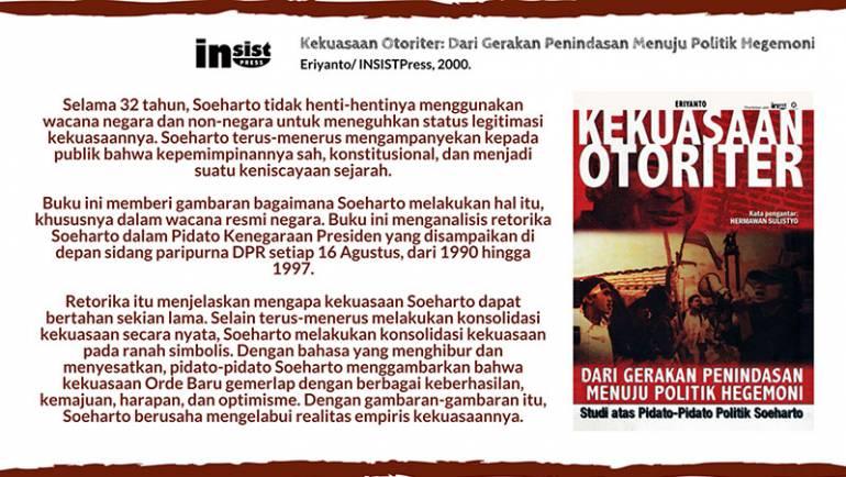 Konsolidasi Kekuasaan Soeharto melalui Pidato