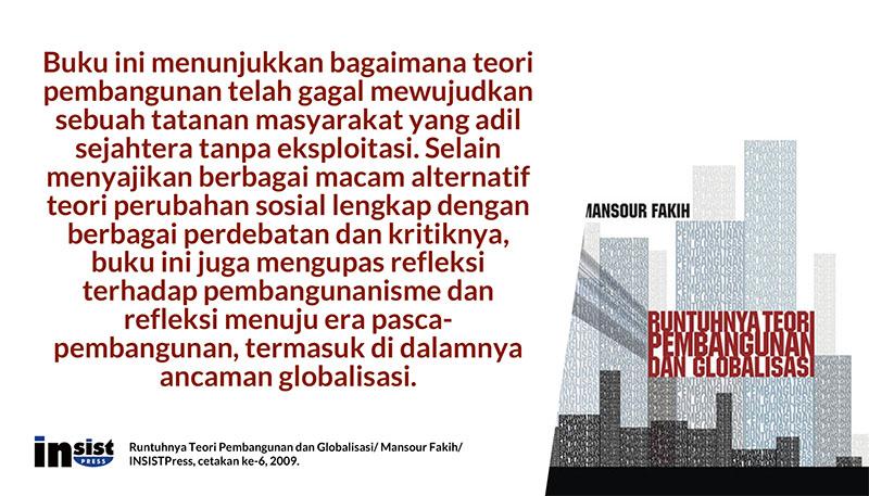 Resensi Buku: Runtuhnya Teori Pembangunan dan Globalisasi