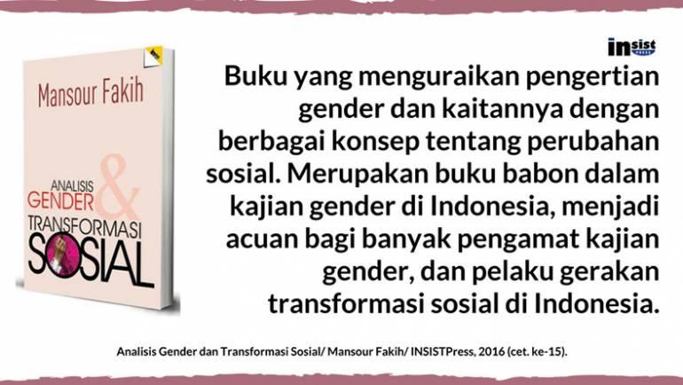 Diskusi Buku Analisis Gender dan Transformasi Sosial karya Mansour Fakih
