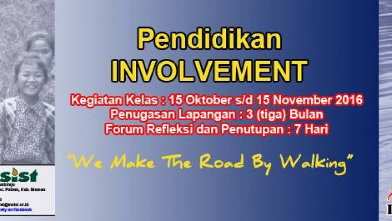 INVOLVEMENT Angkatan IX/2016