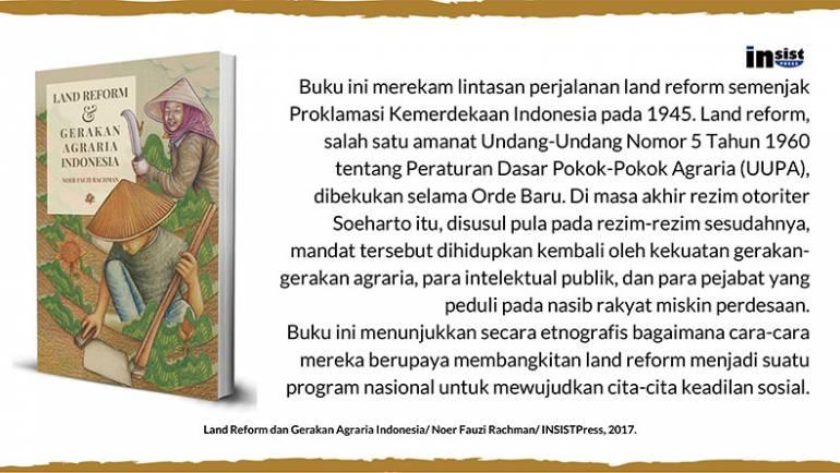 Land Reform & Gerakan Agraria Indonesia – Noer Fauzi Rachman