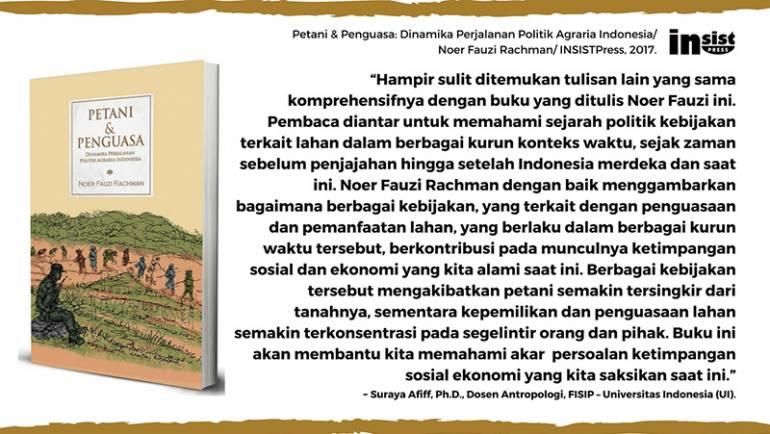 Suraya Afiff: Buku yang membantu memahami akar persoalan ketimpangan sosial ekonomi Indonesia