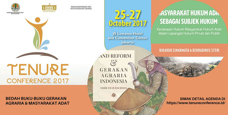 Diskusi Buku Agraria di Konferensi Tenurial 2017