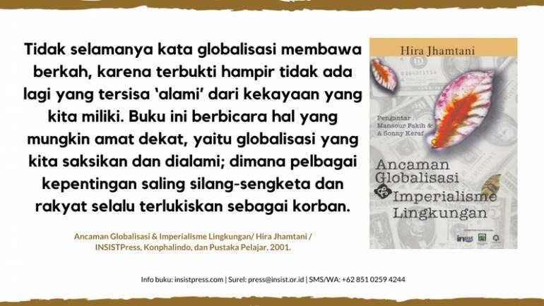 Kita dan Imperialisme Lingkungan