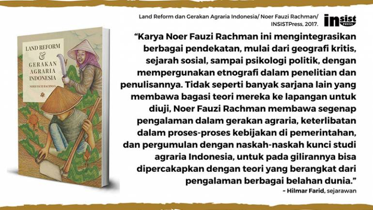 Hilmar Farid: Karya Noer Fauzi, buku yang bisa dipercakapkan dengan teori di berbagai belahan dunia
