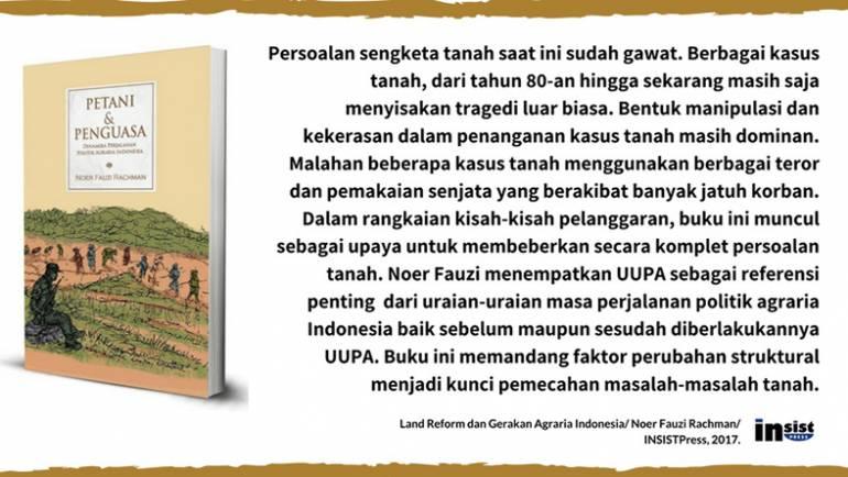 Petani & Penguasa: Dinamika Perjalanan Politik Agraria Indonesia – Noer Fauzi Rachman