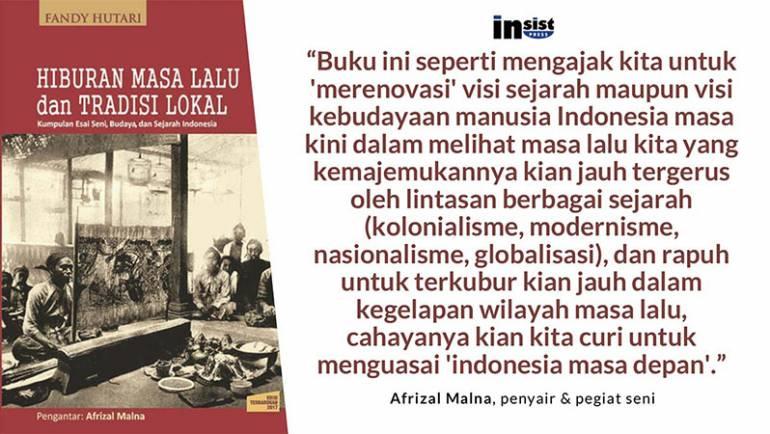 "Fiksi politik vs Fiksi budaya (Dongeng menguasai ""Indonesia masa depan"")"