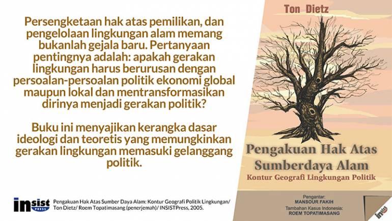 Kontur Geografi Lingkungan Politik