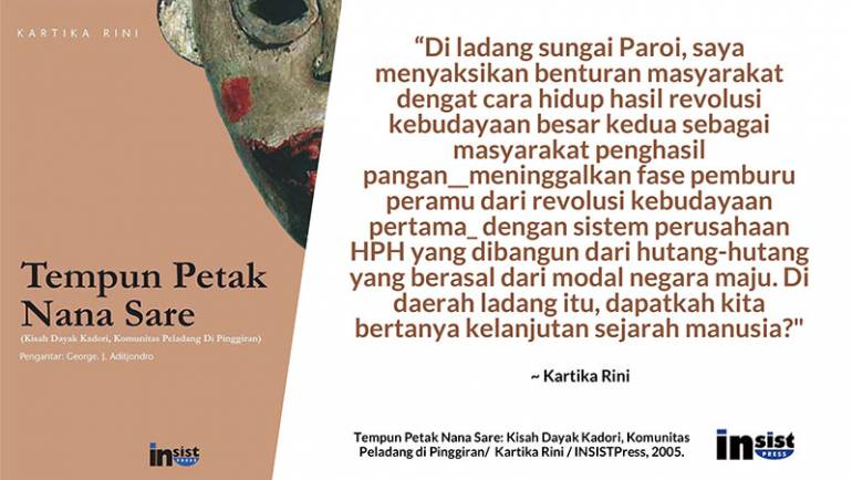 Potret Peladang di Kalimantan