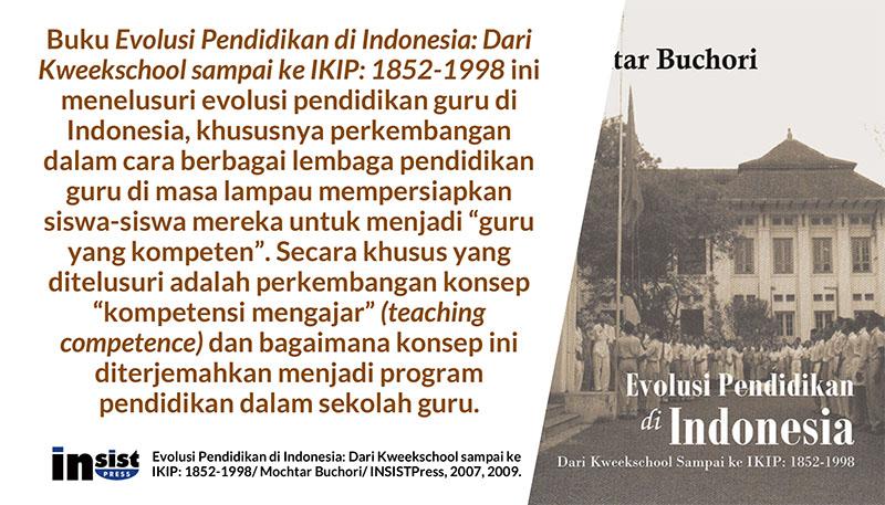 Evolusi Pendidikan Guru