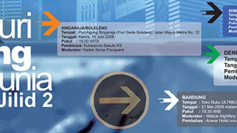 Safari Launching dan Bedah Buku MENYUSURI LORONG-LORONG DUNIA Jilid-2