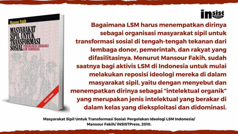 Mengungkap Pergolakan LSM di Indonesia