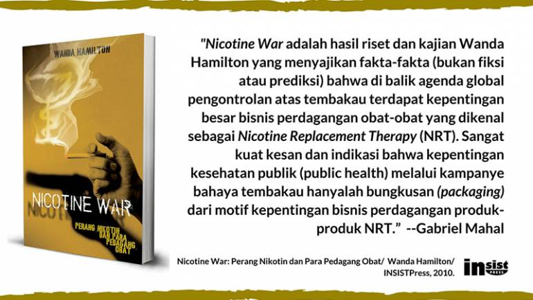Perang Nikotin Bukanlah Omong Kosong