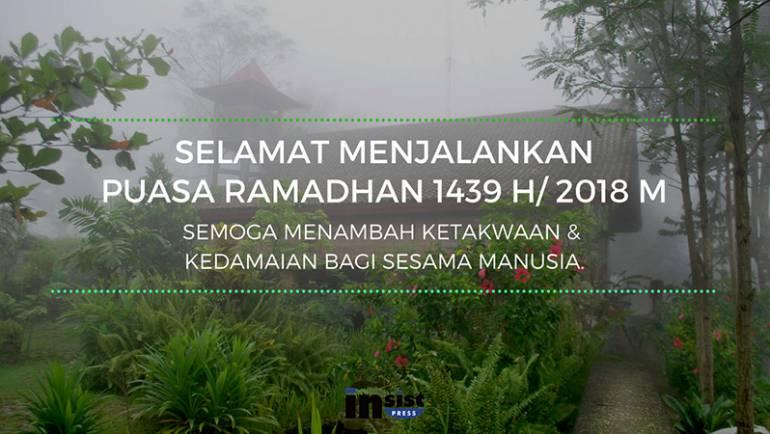 Selamat Menjalankan Puasa Ramadhan 1439 H/2018 M